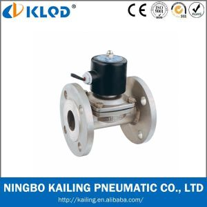 Stainless Steel Valve with Flange Pneumatic Valve (2WB Series) pictures & photos
