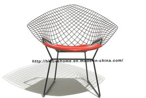 Replica Modern Dining Restaurant Knock Down Wire Diamond Chair pictures & photos