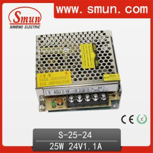 25W 24V 1A AC/DC Power Supply with Ce RoHS Approved pictures & photos