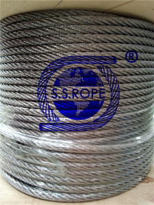 Stainless Steel Wire Rope 7*19-12mm pictures & photos