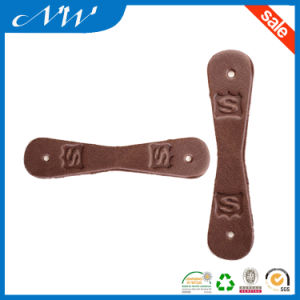 Custom High Quality Branded Leather Patch Jeans PU Leather Patches pictures & photos