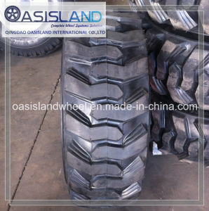 Industrial Pneumatic Tire 15-19.5 for Skidsteer pictures & photos