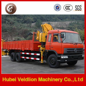 Euro3/Euro 3 Folding Boom Crane Truck pictures & photos