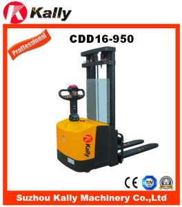 Full Free Lift Electric Stacker with Narrow Legs (CDD16-950)