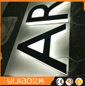 Pdl Stainless Steel LED Halo Sign pictures & photos