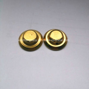 OEM Brass Stamping End Cap for Four-Way Valve pictures & photos