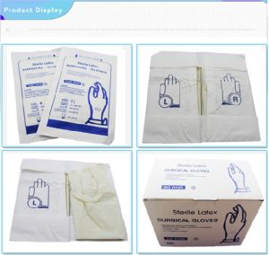 Latex Surgical Gloves, Powdered/Powder-Free pictures & photos
