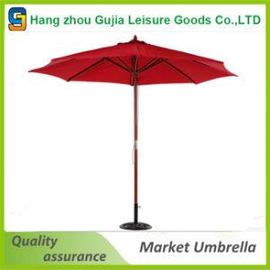 10FT New Patio Sun Shade Wood Pole Outdoor Beach Cafe Garden Umbrella pictures & photos