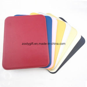 Cheap PU Leather Mouse Pad / Assorted Color Promotional Writing Pad pictures & photos
