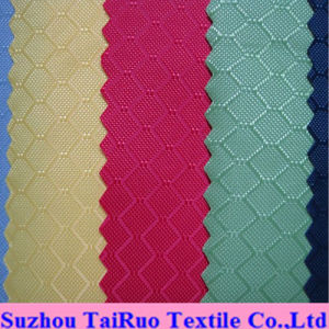 100% Polyester Jacquard Oxford with PVC Coated for Bag Fabric pictures & photos