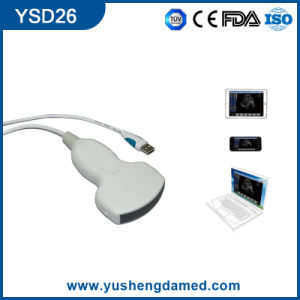 Digital Medical Equipment Convex USB Ultrasound Probe for Laptop pictures & photos