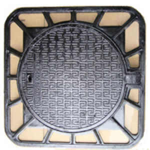 Square Frame Ductile Cast Iron Manhole Cover pictures & photos