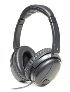 High Rate Noise Cancelling Headset with Black Color