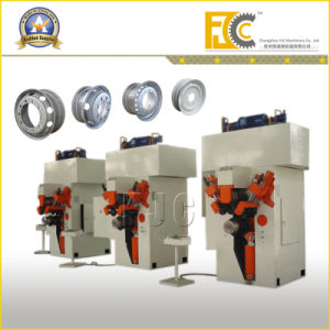 Semi-Automatic Tractor Trolley Wheel Rim Roll Forming Machine (Line) pictures & photos