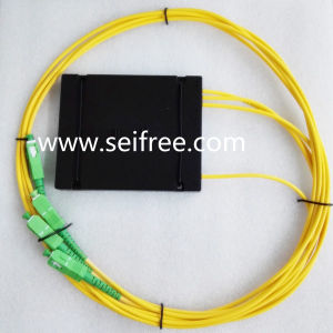 1X3 Single Mode Tree Fiber Coupler of SA Connector pictures & photos