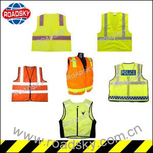 Disposable Cotton Volunteer Safety Vest with Logo Printing pictures & photos