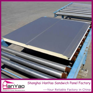 High Quality Color Steel PU Sandwich Panel for Cold Room and Refrigerator Panel pictures & photos