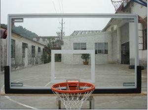 Aluminium Frame Transparent Tempered Glass Basketball Backboard pictures & photos