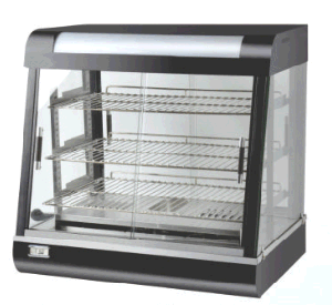 Curved Glasses Commercial Food Warmer pictures & photos