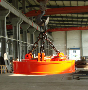 Best Factory of Lifting Electromagnet for Scraps (MW5) pictures & photos