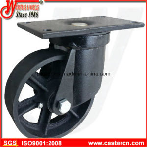 6 Inch to 8 Inch Wastebin Swivel Castor with Ductile Iron Wheel pictures & photos
