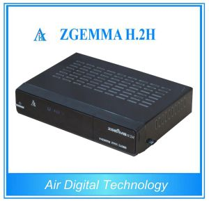 Broadcasting Equipment Zgemma H. 2h Satellite TV Decoder DVB S2 + DVB T2/C pictures & photos