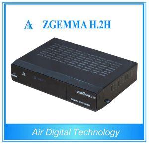 Broadcasting Equipment Zgemma H. 2h Satellite TV Decoder DVB S2 + DVB T2/C pictures & photos