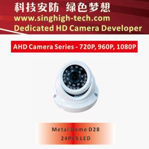 Ahd 720p 1MP Vandalproof Dome Camera Analog HD Camera BNC HD Camera (NS-3028A)