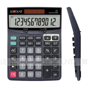 12 Digits Dual Power Desktop Calculator with Tax Function (CA1172T) pictures & photos