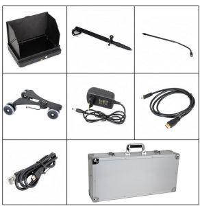 1080P HD Digital Under Vehicle Car Detector System Camera with 2m Telescopic Pole pictures & photos