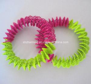 Fashion Spring Bracelets Metal Coil Bangle