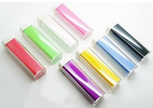 High Quality 2600mAh Metal Square Tube Mini Power Bank pictures & photos