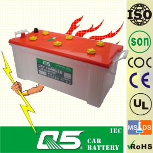 Dry Charge Car Battery (DIN150 12V150AH) truck batteries pictures & photos