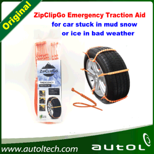 Zipclipgo Life Saver---Emergency Traction Aid Life Saver for Car Stuck in Mud Snow and Bad Weather pictures & photos