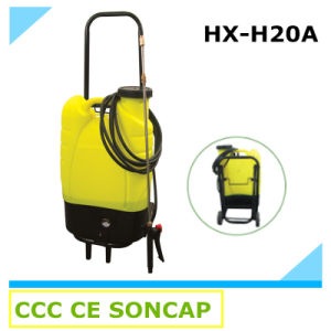 Portable Rechargeable Backpack Electric Agricultural Power Sprayer with Wheels (HX -H20A) pictures & photos