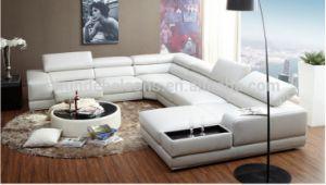 2016 Hot Sale U Shape Leather Sofa for Livingroom Use (SF057) pictures & photos