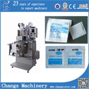 Zjb-250II Alcohol Prep Pad Automatic Packaging Machine pictures & photos