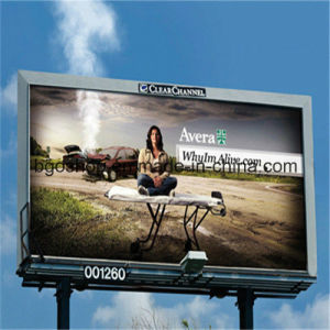 PVC Laminated Backlit Banner Printing Billboard (500dx500d 18X12 510g) pictures & photos