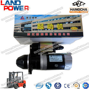 Hangcha Engine Starter Motor/ Hangcha Forklift Truck Parts pictures & photos