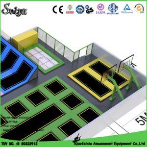 New Design Popular Customized Indoor Trampoline (14-4-1) pictures & photos
