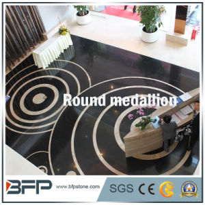Natural Marble Tile Stone Water Jet Medallion/Pattern/Mosaic for Hotel Hall/Indoor Decoration pictures & photos