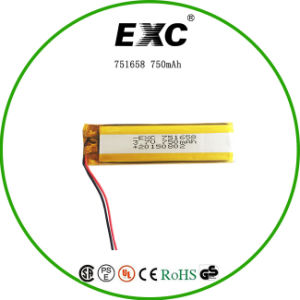 751658 750mAh Li-Polymer Battery pictures & photos