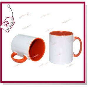 11oz Inner Color Mug for Sublimation by Mejorsub pictures & photos