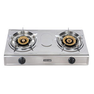 2 Burner 100-120 Stainless Steel Gas Cooker pictures & photos