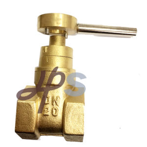Brass Magnetic Lockable Gate Valve for Water Meter pictures & photos