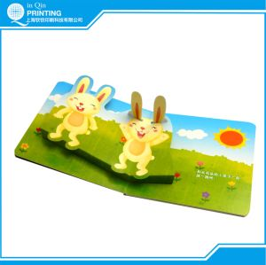 Board Children Book Printing with Round Corner pictures & photos