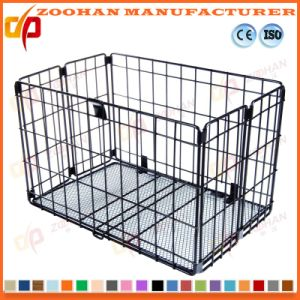 Stackable Supermarket Warehouse Wire Mesh Pallet Storage Container Cage (Zhra18) pictures & photos