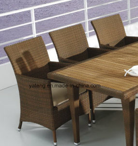 Top Quality Hotel Furniture Chair &Teak Table Set Outdoor Waterproof Dining Set (YTA100&YTD368) pictures & photos