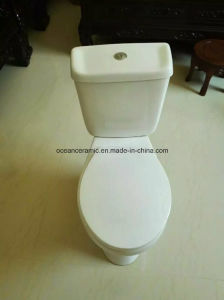 860 Cheap Siphonic Two Piece Ceramic Toilet pictures & photos