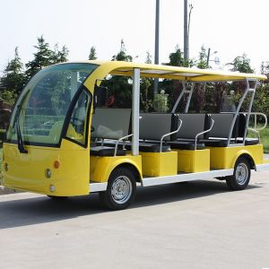 14 Seats Heavy Duty Electric Open Top Sightseeing Bus (DN-14) pictures & photos